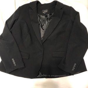 Worthington Black Blazer Suit Jacket Size 18W